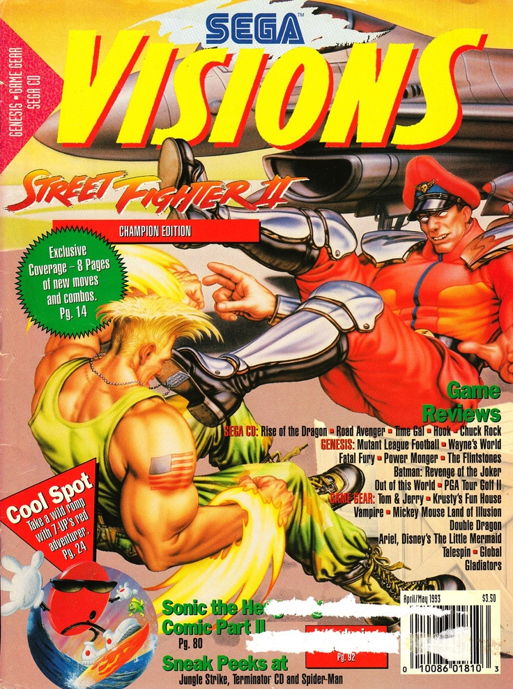 Sega Visions, April/May 1993 - #Genesis #GameGear #SegaCD - http://www.megalextoria.com/magazines/index.php?twg_album=Video_Game_Magazines%2FSega_Visions%2F1993-04_05_show=Sega_Visions_1993_April_May_001.jpg