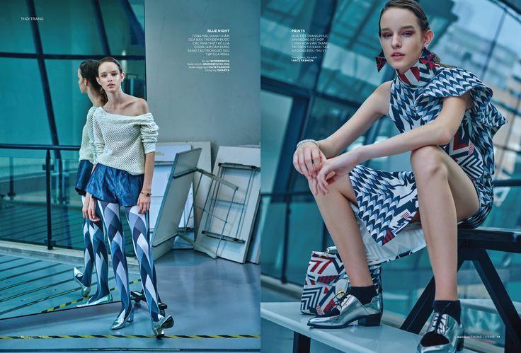 Laura Toth Dep Magazine Vietnam December 2015