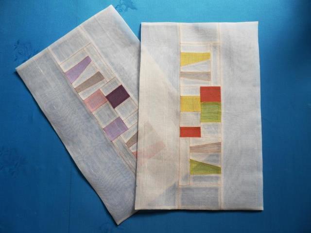 patchwork, silk, Korean