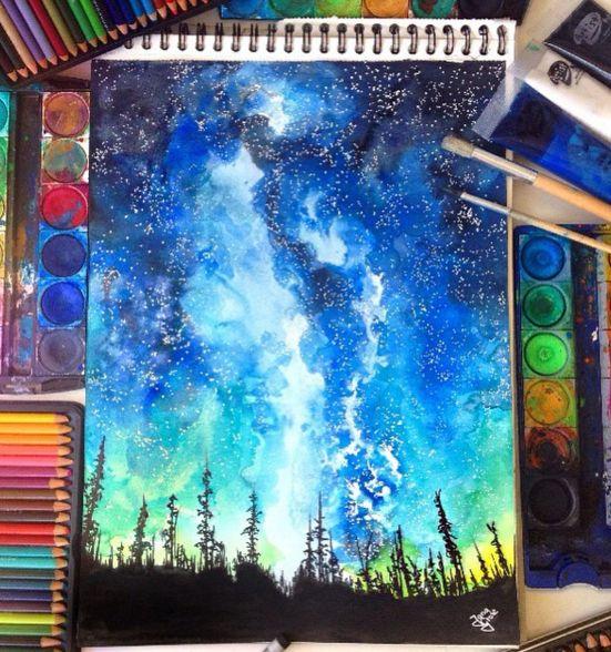 Fantastic Watercolor Pencils Works by: German Artist Jana Grote