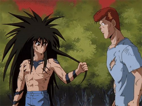 Gay fan art of yu yu hakusho