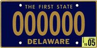 Delaware license - The current state license plate design was introduced in 1959, making it the longest-running license plate design in United States history