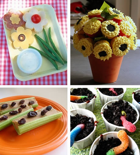 Garden party food ideas relief society pinterest for Food garden ideas