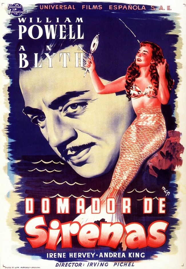 "Domador de sirenas (1948) ""Mr. Peabody and the Mermaid"" de Irving Pichel - tt0040614"