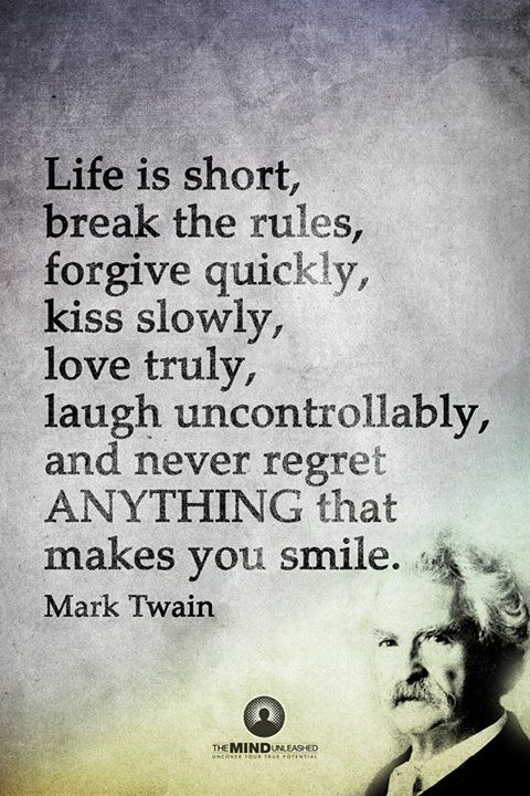 mark twains advice to youth Get an answer for 'what is the goal of mark twain's advice to youth' and find homework help for other mark twain questions at enotes.