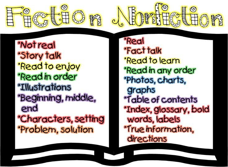 Fiction Books Vs Nonfiction Books