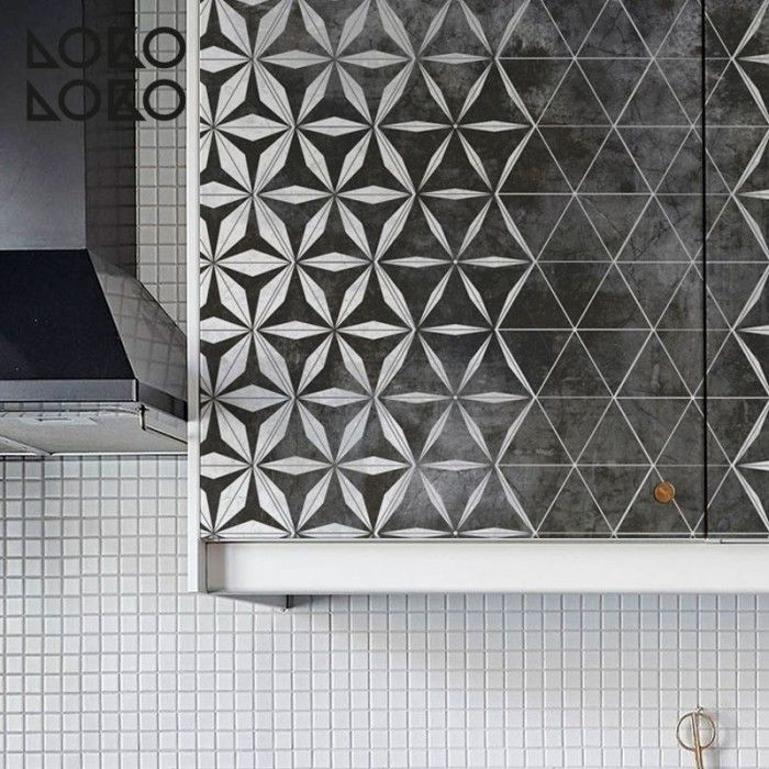 17 best images about cer micos vinilos para muebles y for Forrar azulejos cocina