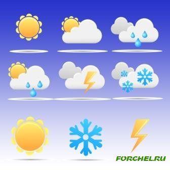 Календарь погоды зимой картинки для детей