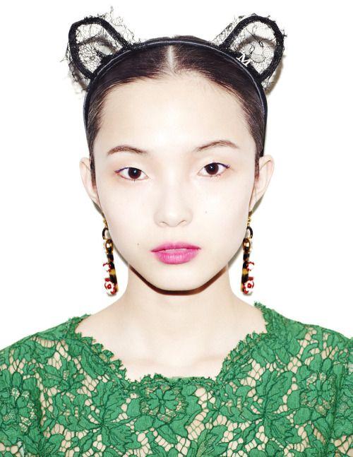 """ Xiao Wen Ju by Matt Irwin for Style.com Print F/W 2013. """
