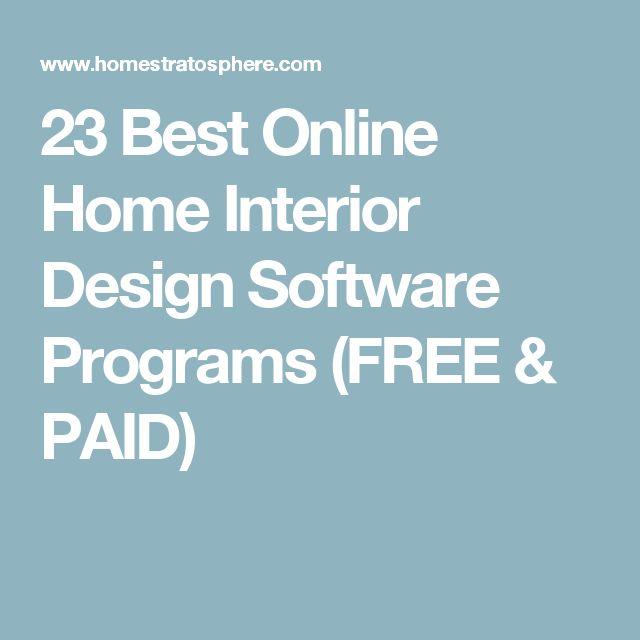25 Best Ideas About Interior Design Programs On Pinterest Interior Design Software House Design Software And Free Design Software