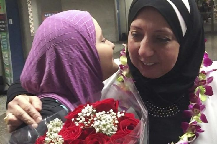Travel Ban Settlement Impacts Fewer Than 20 People Says Justice Department  Fewer than 20 people are impacted by a travel ban settlement a U.S. federal court ruled this week. Pictured is Noran Elshikh left greeting her grandmother Wafa Yahia at Honolulu's Daniel K. Inouye International Airport after she arrived from Syria on Aug. 12. Ismail Elshikh / Associated Press  Skift Take: These days we don't know what to believe from the U.S. Department of Justice and we wonder how many people are…