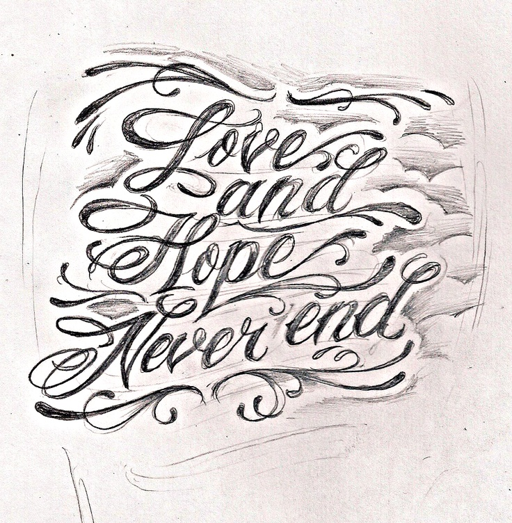 1000+ images about tattoo lettering and fonts on Pinterest | Fonts ...