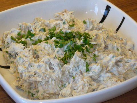 amuse, voorgerecht, lunch,  gerookte makreel: een verfrissende makreel pate. echt een jamie oliver recept. Marions Recepten, een en al recepten en gerechten!