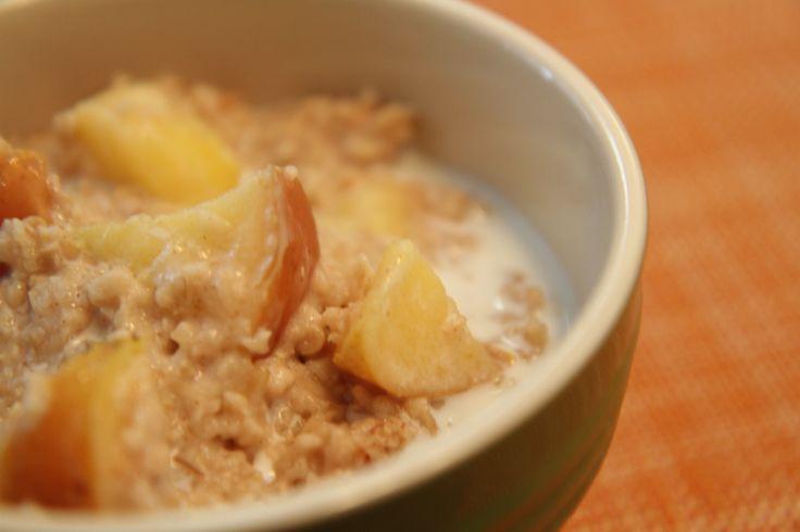 애플 시나몬 오트밀 만들기 (Apple Cinnamon Oatmeal recipe)