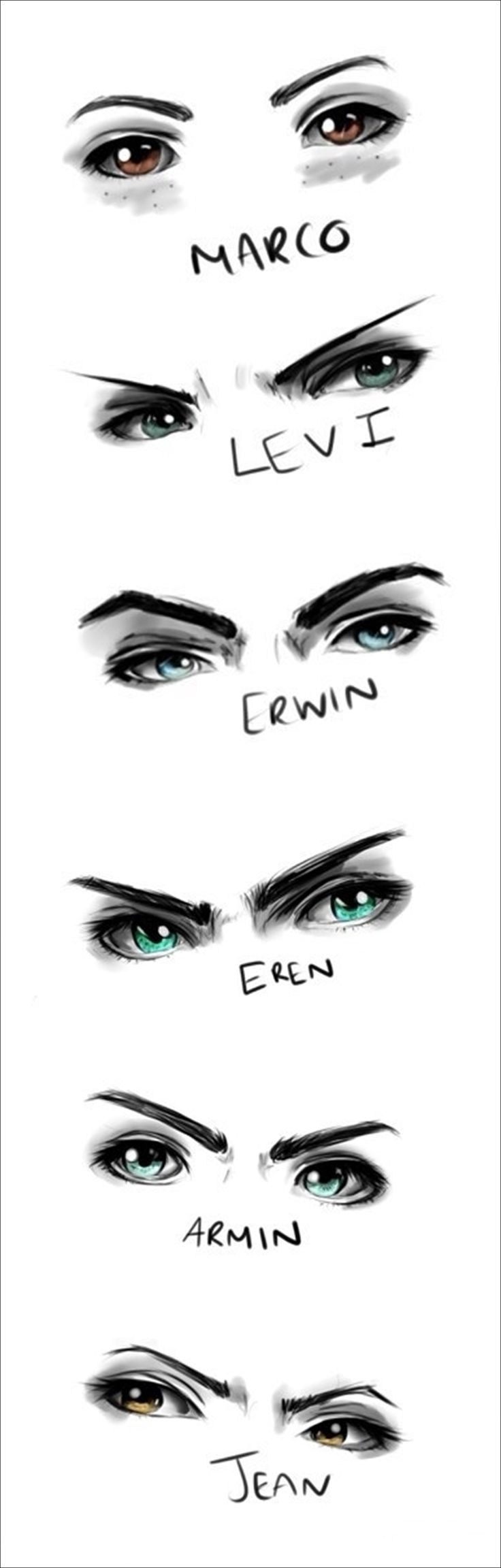 Ya this great an' all but Erwin's eyebrows need to be more....... Eyebrowie.