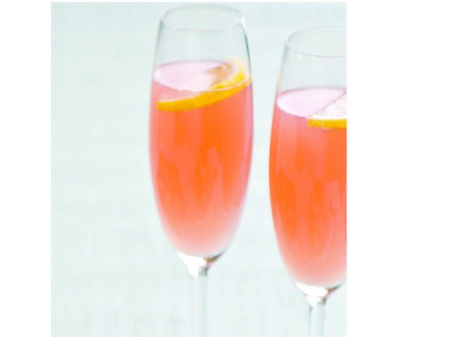 Pink Grapefruit and Pomegranate Mimosas | Recipes to Try- Mixed Drinks ...