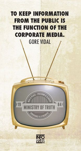 Gore Vidal Quote about Corporate Media