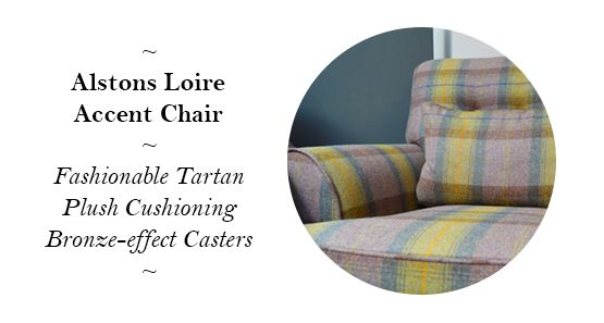 Alstons Upholstery Loire Accent Chair - reduced from £825 to £499!