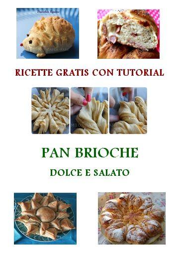 PDF GRATIS: Pan Brioche dolce e salato con Tutorial