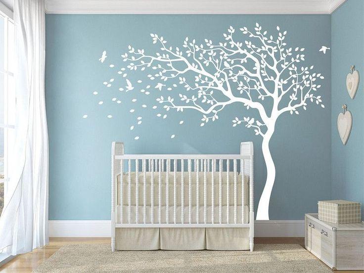 20 Schön Wandtattoo Baum Weiß Kinderzimmer