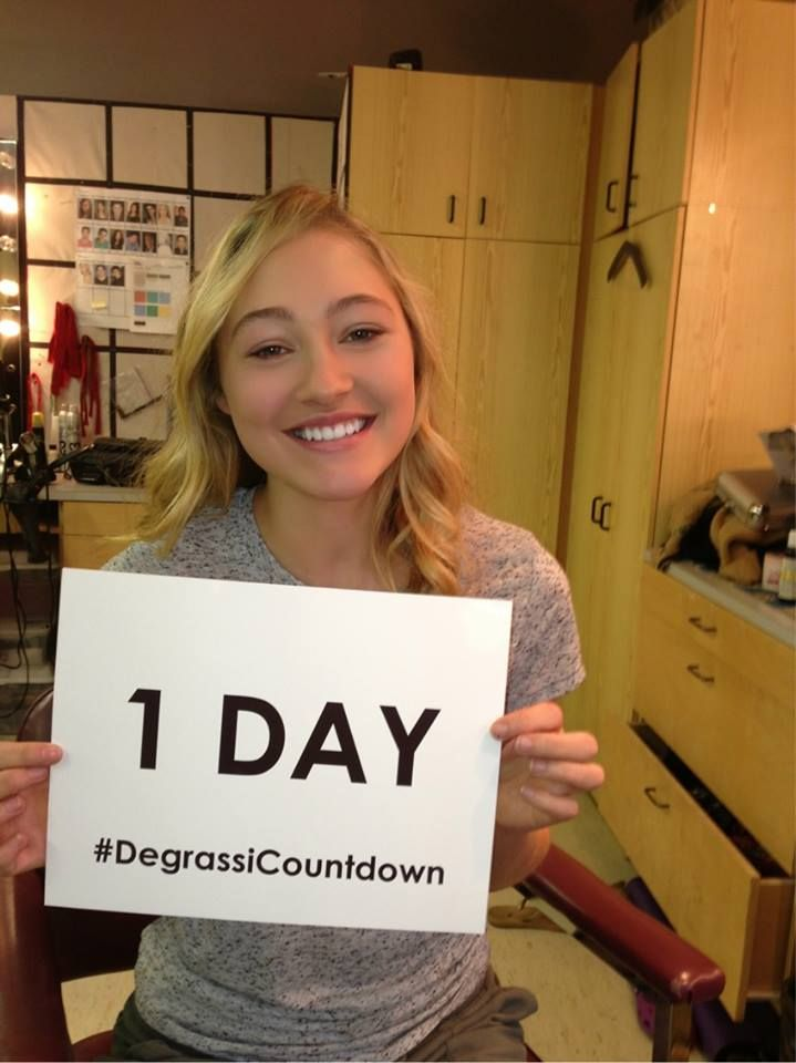 Reserve the TV and couch immediately:   #Degrassi returns TOMORROW at 9 pm ET on TeenNick & MTV Canada! #DegrassiCountdown #OliviaScriven