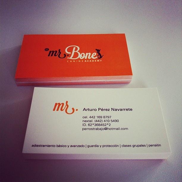 Tarjetas de presentación | Mr. Bones