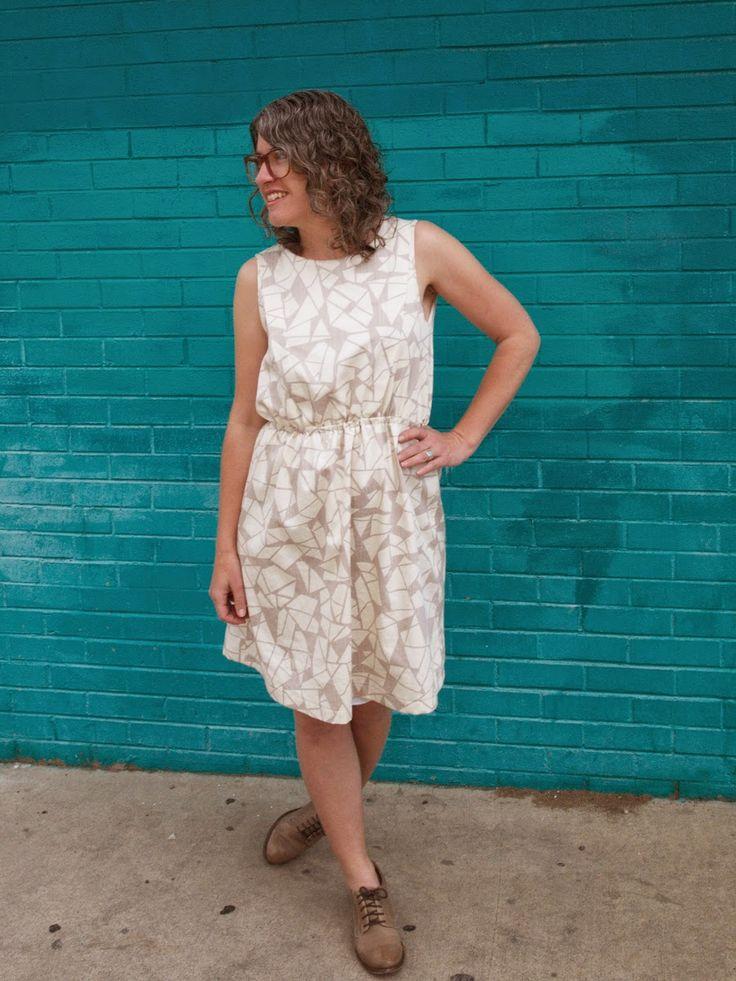 Fancy Tiger Crafts: Jaime's Geometric Leini Dress