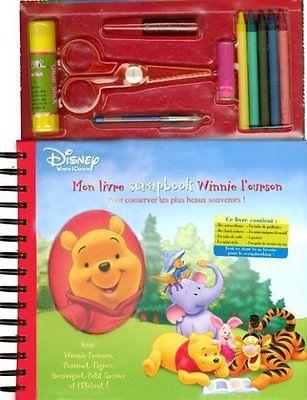 Mon livre scrapbook Winnie l'ourson de Jean-Marc Daume | Livre | d'occasion