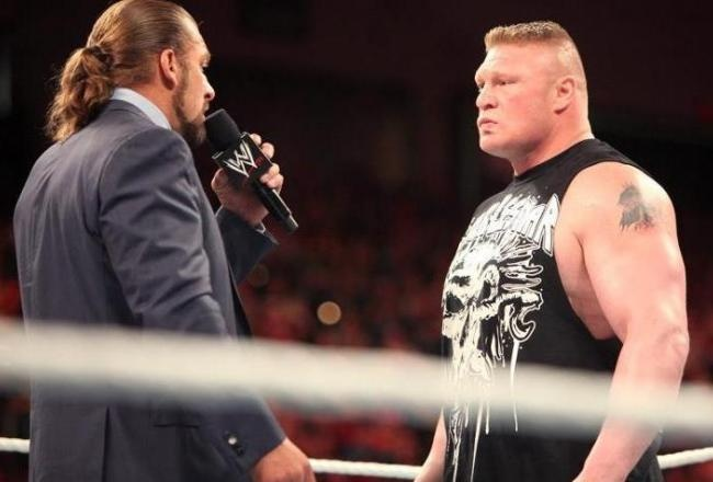 WWE SummerSlam 2012: How Epic Triple H vs. Brock Lesnar Battle Must End  WHO DO YOU THINK WILL WIN?