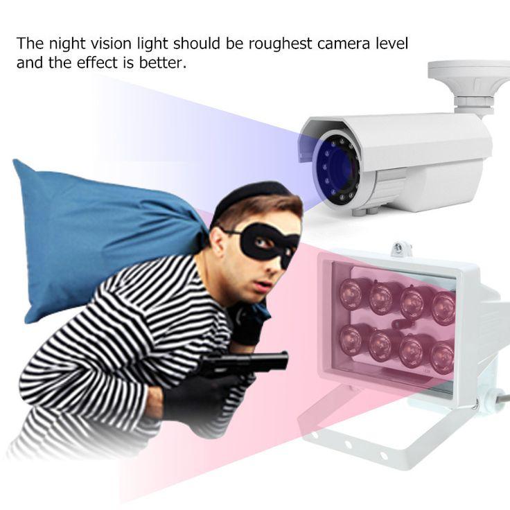 Fabulous Illuminateur lumi re infrarouge pour cam ra de s curit IR LED v lampe de vision nocturne