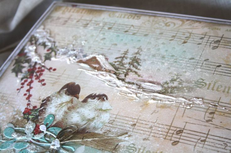 Christmas album detail #scrapboking