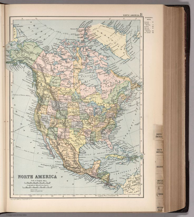 North America in 1892 made by D