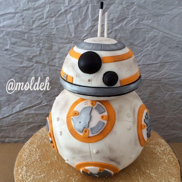 Pastel de BB8 // Star wars BB8 cake