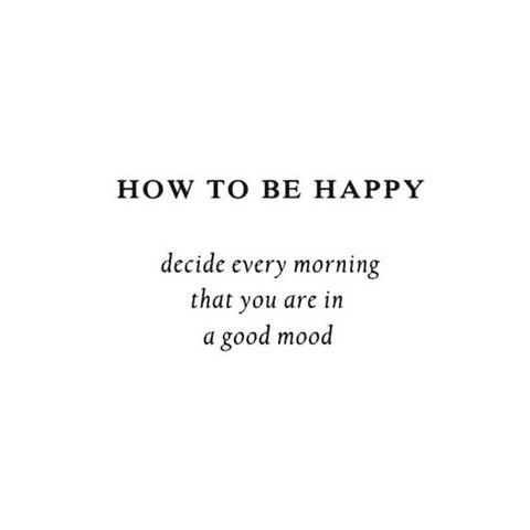 Be Happy. Positive Vibes.