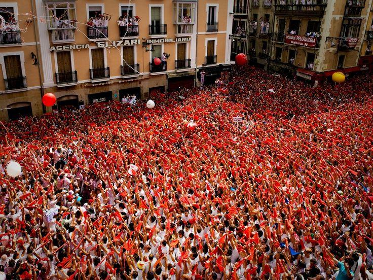 San Fermín es una de las mejores fiestas, pero ¡hay que vivirla! #SanFermín