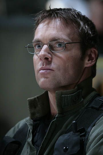 Daniel Jackson. Played by Michael Shanks. ( T.V. Stargate SG-1.)