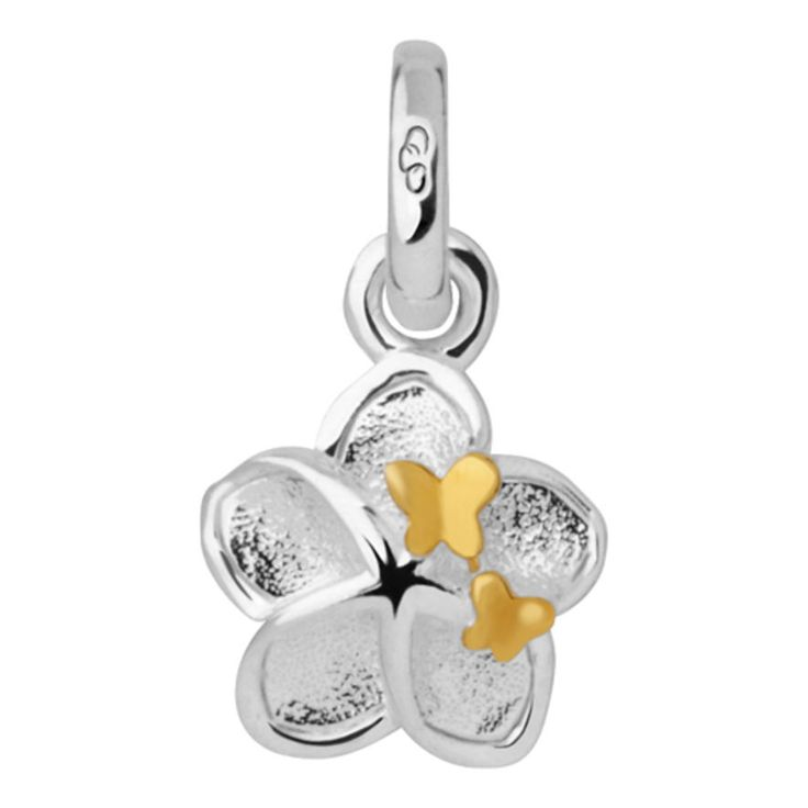Mini Flower and Butterfly Charm, Links of London Jewellery