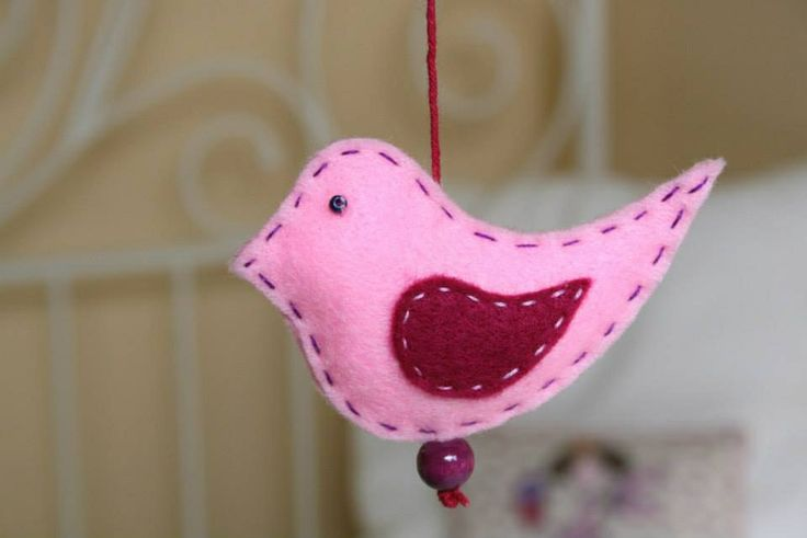 Birdie Mobile ~ Made by Tilia Kids ~ http://www.facebook.com/TiliaKids