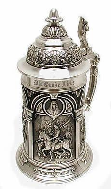 Sterling silver beerstein