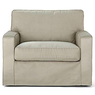 Slipcover Chair Sierra And A Half