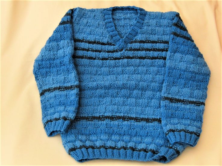 Excited to share the latest addition to my #etsy shop: Basketweave Patterned Jumper, Hand Knitted Childs Jumper, School Jumper, School Sweater, Winter Jumper, Childrens Clothes, Birthday Gift http://etsy.me/2DzHk2o #clothing #children #jumper #birthday #christmas #chil