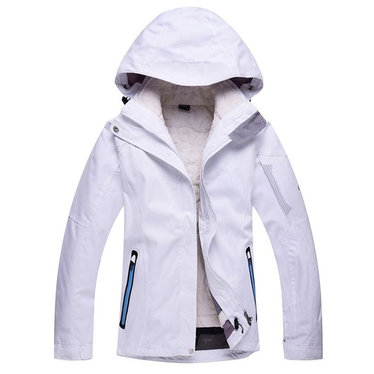 52.56$  Buy now - http://alibr9.shopchina.info/go.php?t=32751466380 - Cheap Woman Ski snowboard  Pure Color White Purple  Snow Clothing skiing suit Jacket outdoor sports Costume Winter Ski Jacket  #shopstyle