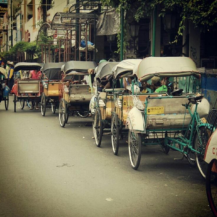 Lets go to work, Jogjakarta 2012