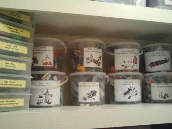 Organizando Lego