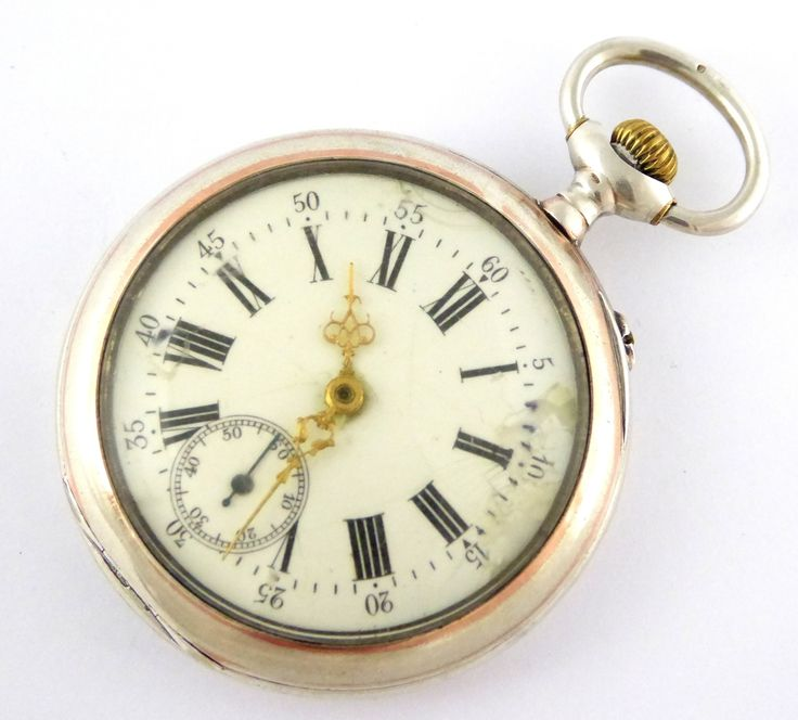 Antique 1900s German .800 Silver and Gold Pocket Watch IXL - The Collectors Bag