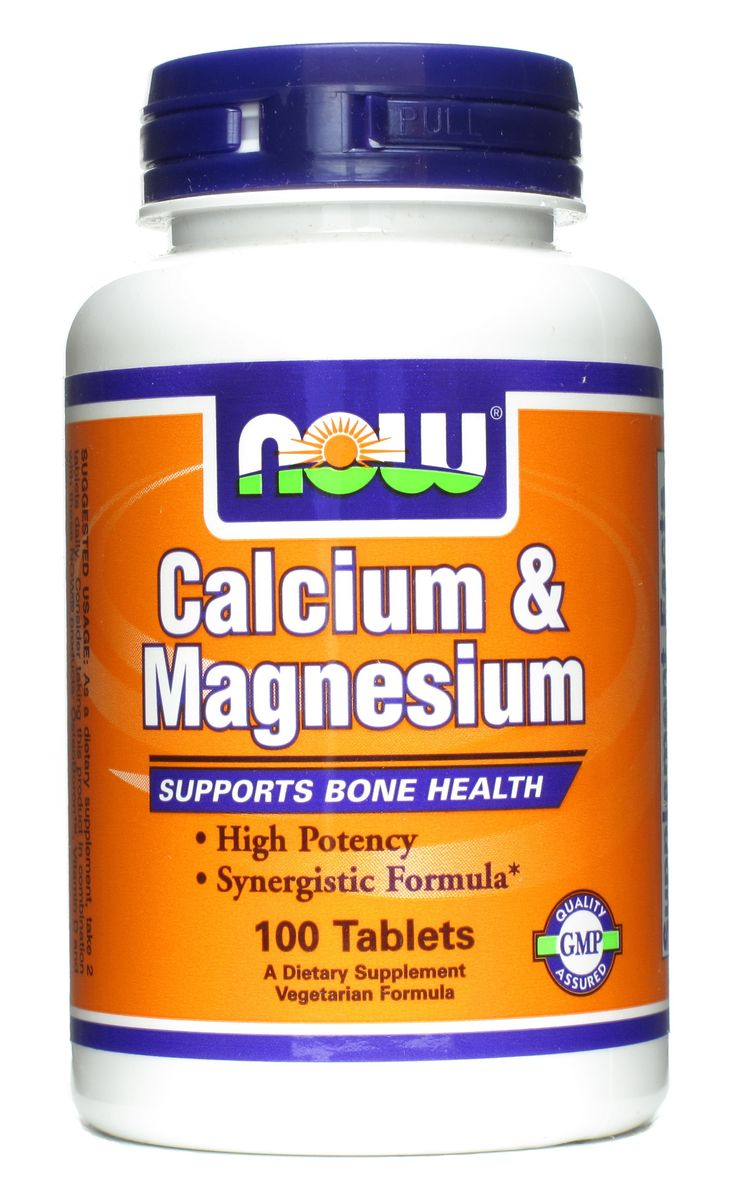 NOW Calcium & Magnesium Tablets- supports & syncs contractions   Cal. Stimulates muscles Mag. Relaxes muscles. Aids in diminishing anxiety, supporting nervous system