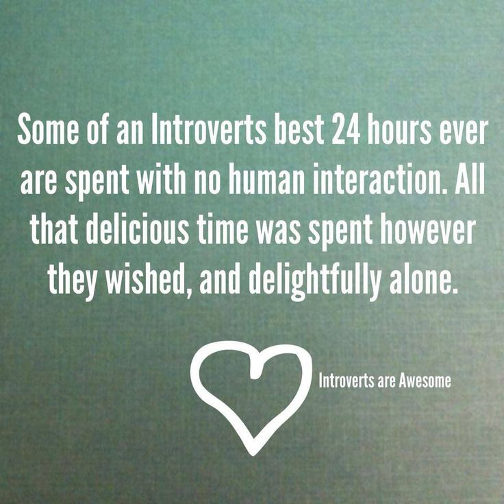 introvert dating alone time