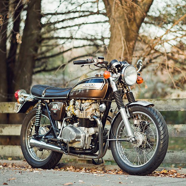 How can I not love this Honda CB450 custom motorcycle? It's called the Adeline... via Bike Exif