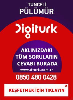 Digiturk Pülümür - Servis Satış Noktası - 0428 Tunceli