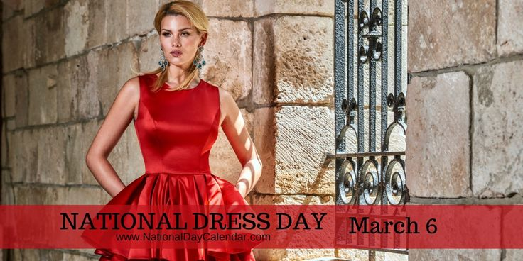 Dresses won't change the world, it is the women who wear them that will  #NationalDressDay